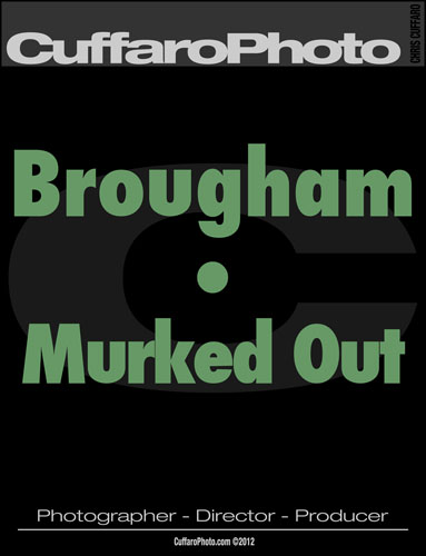 Brougham – 'Murked Out'