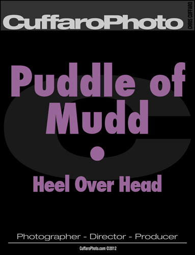 Puddle of Mudd – 'Heel Over Head'