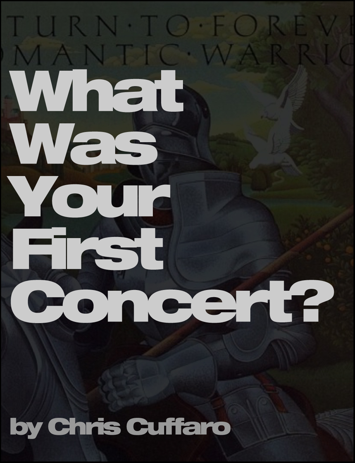 What Was Your First Concert?