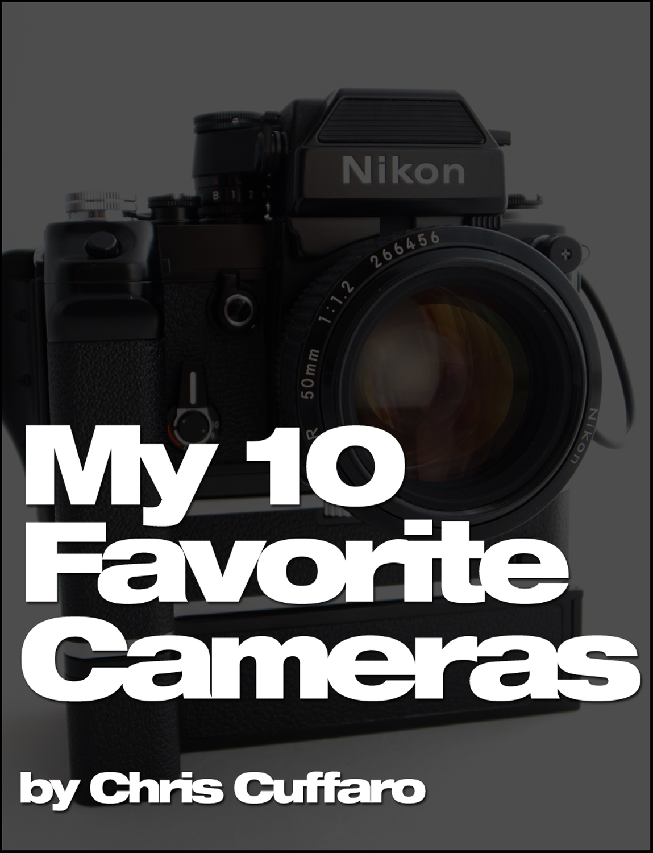 My 10 Favorite Cameras