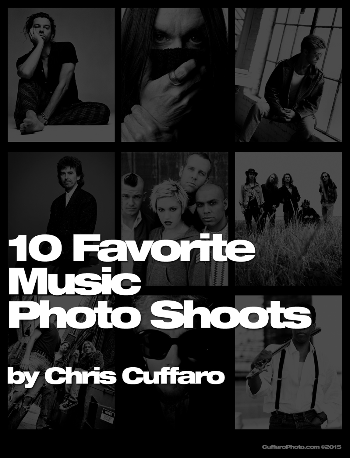 10 Great Music Photo Shoots
