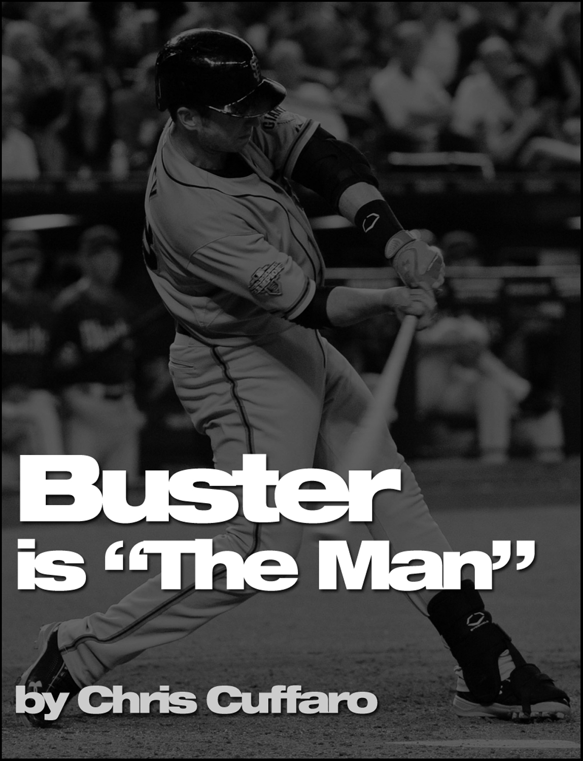 "Buster is ""The Man"""