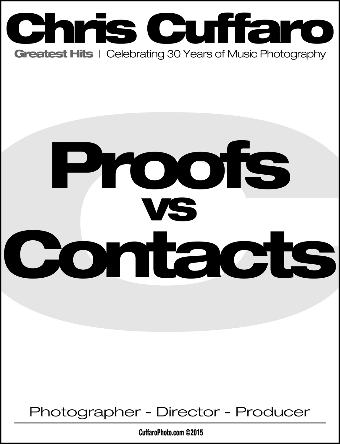 Proofs vs Contacts