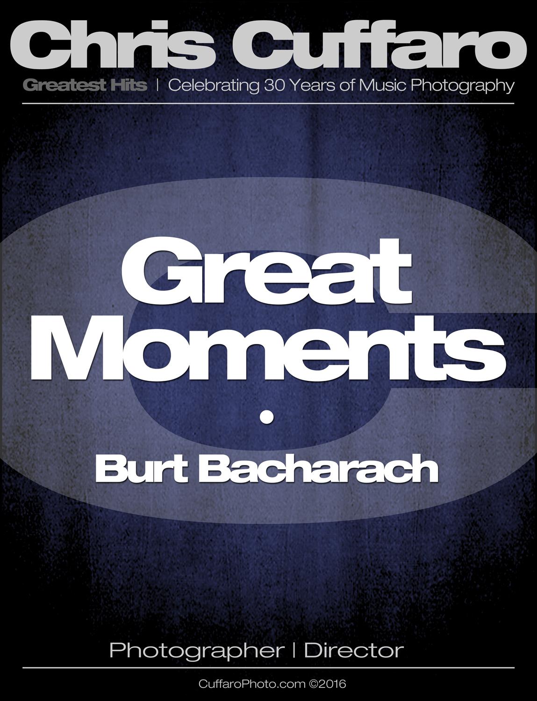 Great Moments: Burt Bacharach